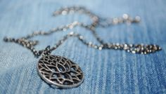 """""""The lotus flower grows through muddy waters and into a flower of great beauty and purity.""""  To view all available jewelry, click here: https://www.etsy.com/shop/CrystalCharriere?section_id=14535807"""
