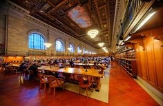 New York Public Library - New York City by Michael FRANCHITTI on 500px