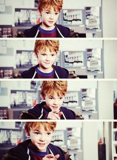 I know this isn't maze runner but he was so cute when he was young. As well as now.