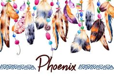 Watercolor Feathers With Ribbons,shells,beads,strings Of Pearls Stock Illustration - Illustration of decorative, color: 65925917 Watercolor Feather, Feather Painting, Feather Art, Watercolor Print, Watercolor Illustration, Cover Photos Facebook Unique, Fb Cover Photos Unique, Covers Facebook, Feather Background