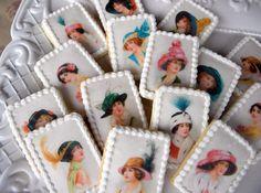 Downton Abbey Tea Party Cookies