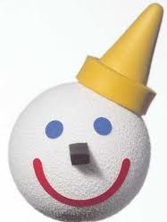 Yellow Smiley Antenna Ball Construction Worker Car Antenna Topper Jack in the Box
