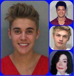 Justin Bieber não é o primeiro artista a sorrir em foto de ficha policial; veja outros famosos presos http://newsevoce.com.br/?p=8246