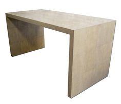 bureaux galuchat ginger brown france,shagreen desk