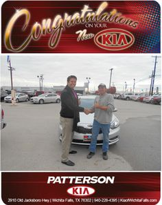 Congratulations to Judson Lancaster and his 2014 Kia Forte! - From Jeff Baker at Patterson Kia!