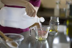 They tried, tested and compared homemade cleaning solutions to store bought chemical ones and made a list of the best homemade recipes to use.  Great source!
