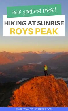 Hiking Roys Peak at Sunrise - is it worth it? I what to do in New Zealand I where to go in New Zealand I places to go in New Zealand I things to do in New Zealand I outdoor adventures in New Zealand I hiking in New Zealand I where to hike in New Zealand I New Zealand travel I travel in New Zealand I outdoor destinations I dream destinations I Roys Peak hike I New Zealand hikes I places to hike in New Zealand I destinations in New Zealand I #NewZealand #hiking Best Hiking Gear, Hiking Food, Backpacking Tips, Hiking Tips, Cool Places To Visit, Places To Go, Scotland Hiking, Waterfall Trail, Hiking Europe