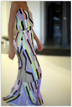 Soooo Ready for Spring and Summer!   Such an awesome maxi pattern