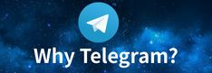 Why use Telegram? Read my article now! Explain Why, Free Reading, Company Logo, Blog, Blogging