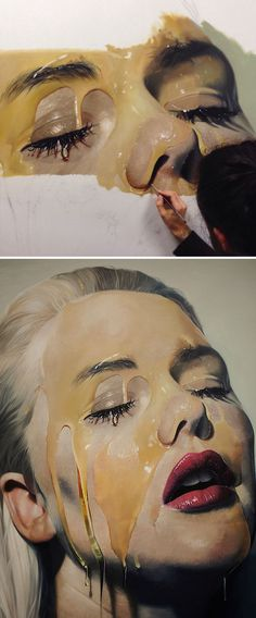 23 Jaw-Dropping Examples Of Hyper Realistic Art Hyper Realistic Paintings, Realistic Drawings, Art Hyperréaliste, Hyperrealistic Art, Eye Painting, Graphite Drawings, Realism Art, Human Art, Western Art