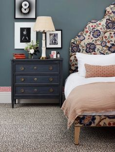 New In Store - The Sainsbury's Home Rural Retreat Range - Dear Designer Sainsburys Home, Grey Furniture, Paint Colors For Home, Tiffany, Guest Bedrooms, Dresser As Nightstand, Beautiful Bedrooms, Room Colors, Cottage