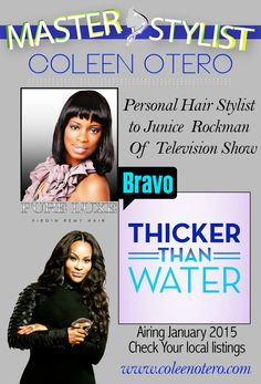 Personal Stylist to Junice Rockman of Thicker Than Water (Bravo Network Reality TV show)