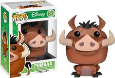 """After a long day of doing nothing, it's good to kick back."" Wise words from everyone's favourite Warthog - Pumbaa! If you grew up watching the Lion King or your kids love it now then this Pumbaa Pop! is a must have!  Proudly brought to you by Popcultcha, Australia's largest and most comprehensive Pop! Vinyl on-line store. Click here to see more of our great Disney Pops!"