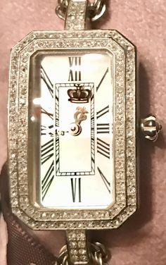 Juicy Couture Watch, Square Watch, Watches, Accessories, Fashion, Moda, Wristwatches, Fashion Styles, Clocks
