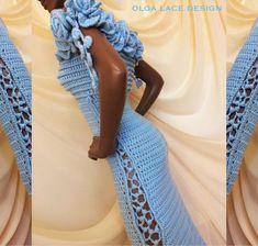 """Купить Вязаное платье """"Flowers"""" от Olga Lace в интернет магазине на Ярмарке Мастеров"""