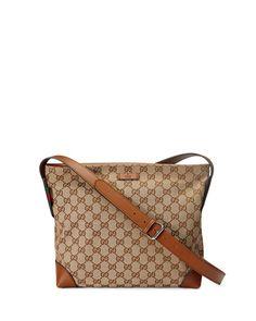 b55707cccd7 Gucci Original GG Canvas Messenger Bag