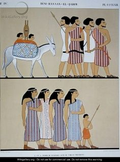 Home negroes latinos and native american indians are for Beni hasan mural