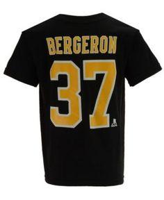 Outerstuff Patrice Bergeron Boston Bruins Player T-Shirt, Toddler Boys (2T-4T) - Black 3T