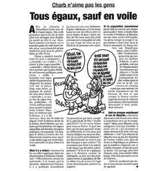 Charlie Hebdo: les dessins de Charb   Slate.fr