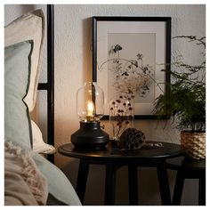 Small and handy table lamp in black- Kleine und handliche Tischleuchte in Schwarz IKEA Germany Mood Light, Lamp Light, Luminaire Ikea, Dimmable Light Bulbs, Old Lamps, Kerosene Lamp, Black Table Lamps, Ikea Lamp Table, Led Lamp