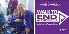#WilfWalks on 9/18! Join us and help #endalz