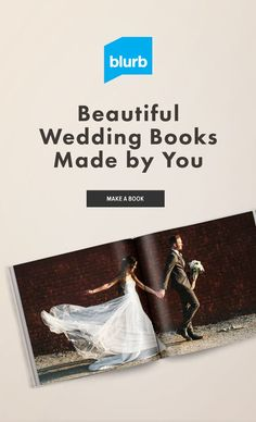 Create stunning albums for your photography clients that show off their big day. Whether it's part of a wedding package or to showcase your talent, Blurb can help you create a book as unforgettable as the big day.