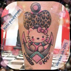 https://www.facebook.com/VorssaInk/, http://tattoosbykata.blogspot.com, #tattoo #tatuointi #katapuupponen#vorssaink #forssa #finland #traditionaltattoo #suomi #oldschool #pinup #helllokitty
