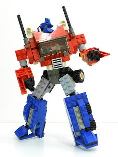 Alanyuppie's LEGO Transformers: Neo Optimus Prime LEGO Instructions