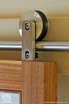 Barn Door Hardware by Real Sliding Hardware, Swiss (Modern)