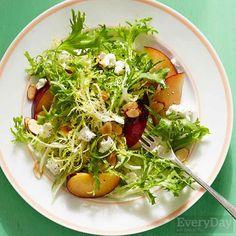 Plum Delicious Frisee Salad