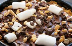 Yum: Rocky Road chocoladetaart