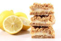 Cake By Mary: Havrerutor med citronfyllning
