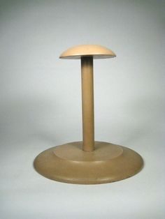 Hat Stand Women's Paint Wood Wooden Vintage Size 8 1/2 Tall Display Painted Wig #Unbranded