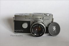 https://flic.kr/p/4ZpyiM | Olympus Pen FT | The one that started my camera acquisitions, an Olympus Pen FT (35mm half-frame SLR) from sometime before the summer of '68.