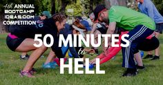 This workout is an entry to this year's Bootcamp Ideas Competition. It has been submitted by Stephanie Radnanof Sydney, Australia. 50 Minutes to Hell Workout Time: 50 minutes Equipment Needed: Mat…
