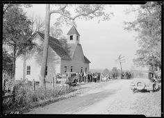 "Little Country Church | File:""A little country church, Sharps Station M.E. Church, near ..."