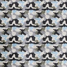 Could we make Camo cool?   Kamo C14-4-24-34-22 - moroccan cement tile