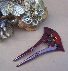 Vintage Japanese hair comb kanzashi hair pin by ElrondsEmporium, $35.00
