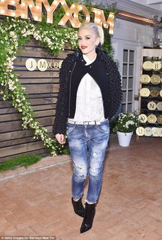 The Sweet Escape: Gwen Stefani partied at the Barneys New York dinner to celebrate the store's collaboration with jewellery designer Jennifer Meyer on Wednesday night