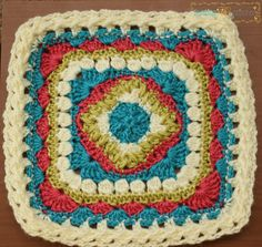 Family Squares, free pattern