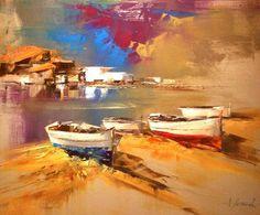 Barcas sobre la arena - Josep Teixidó - GAL-GALLERY