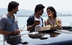 Lara Dutta, Shah Rukh Khan and Kunal Kapoor in Don 2
