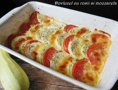 Reteta Dovlecel cu rosii si mozzarella din categoria Mancaruri cu legume si zarzavaturi. Cu specific romanesc.