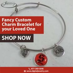 What about a fancy custom charm bracelet for your loved one on this anniversary? Personalize it in gold, silver, or platinum metals only at Digital Jewelry. Platinum Metal, Custom Charms, Free Quotes, Metals, Anniversary Gifts, Charmed, Fancy, Digital, Bracelets