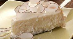 Uma torta fofinha, gostosa, deliciosa e que é feita rapidinha no liquidificador, experimenta!