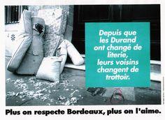 Villed de Bordeaux - Campagne propreté