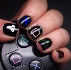 Play station nails