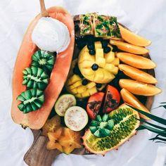 Vegan Food Lovers Features Tropical Fruit Platter By @BySaber http://ift.tt/1rZXZFh http://ift.tt/1KKSeU7 #veganfoodlovers by veganfoodlovers http://ift.tt/1THa7Hj - http://ift.tt/1HQJd81