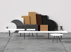 #Arper introduces MEETY, a table system designed by Lievore Altherr Molina.  It is widely customizable, with tabletop shape options and in a range of materials from wood to laminated MDF to glass. The round, square and rectangular shapes were envisioned for use in large seating environments, while the soft and fluid soap shape has a singular presence and appeal.   #milandesignweek