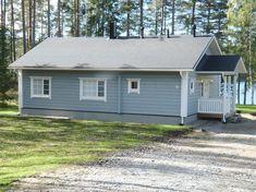 The wooden finnish house Amanda 103 in Vesanto : photo, description, plan | Visilla